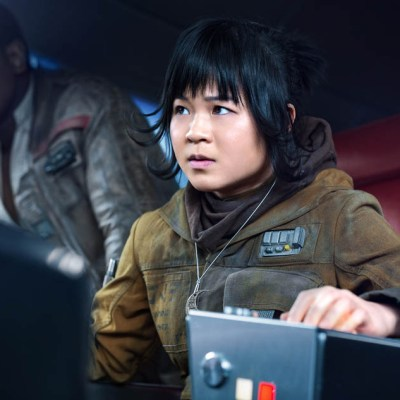 "STAR WARS: THE LAST JEDI Kelly Marie Tran (""Rose Tico"") interview"