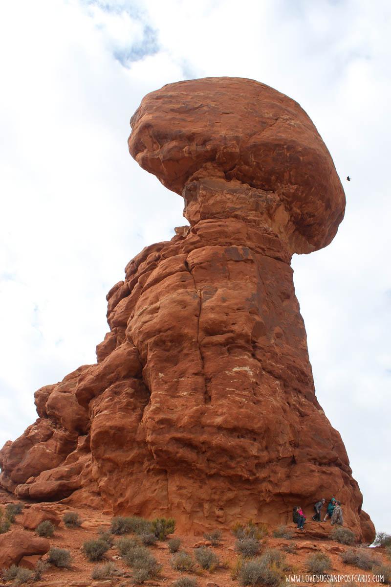 Balanced Rock Arches National Park Utah