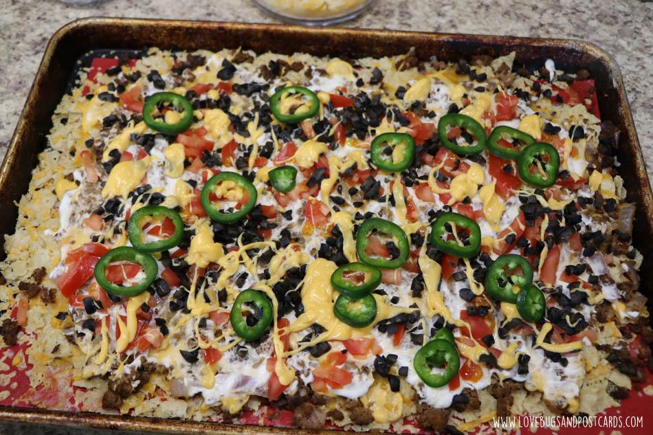 Nacho Pizza Recipe