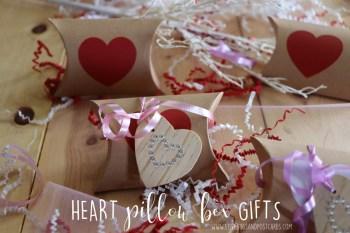 DIY Heart Pillow Box Gifts