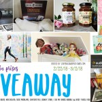 February Giveaway with over $300 in prizes!