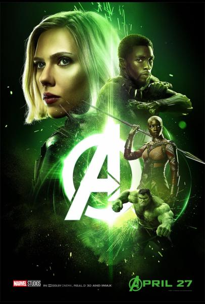 Avengers Infinity War Character Posters