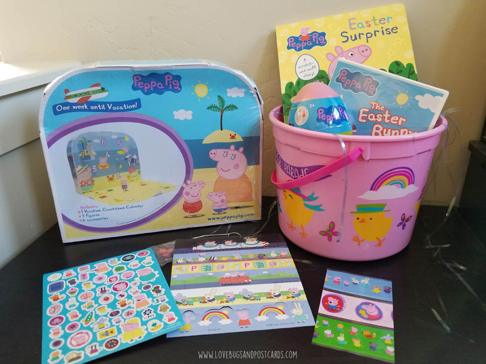 Oinktastic peppa pig easter basket ideas lovebugs and postcards we received these items as part of our peppa pig ambassador program all opinions are our own easter is just around the corner and i am working on getting negle Image collections