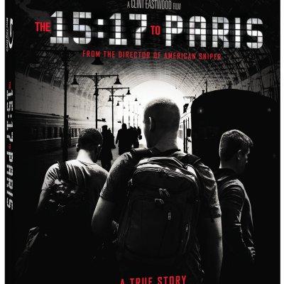 15:17 to Paris on Blu-ray