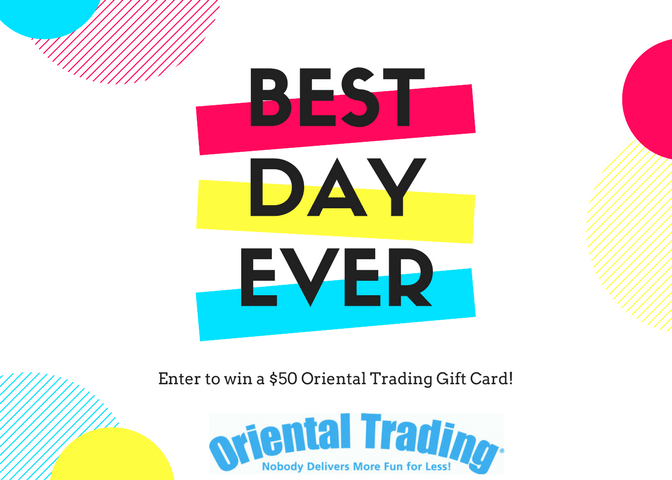 $50 Oriental Trading Gift Card Giveaway