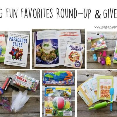 Spring Fun Favorites + Giveaway
