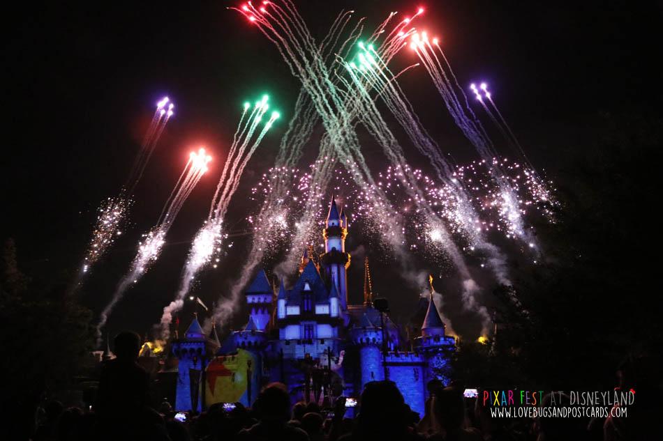 Together Forever – A Pixar Nighttime Spectacular fireworks show at Disneyland