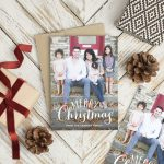 Check one thing off your list early and get your holiday cards now