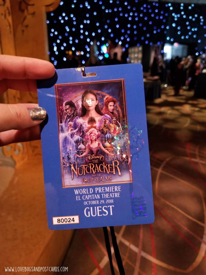 Disney's The Nutcracker and the Four Realms Red Carpet Premiere Experience #disneysnutcrackerevent