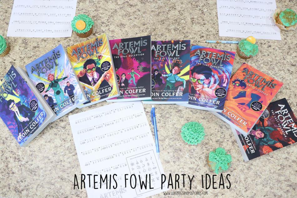 Artemis Fowl Party Ideas