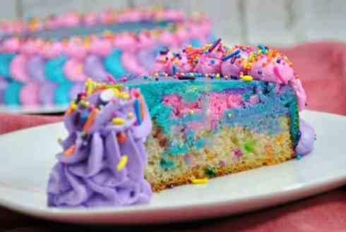 Unicorn Birthday Party Ideas - Magic Unicorn Cheesecake