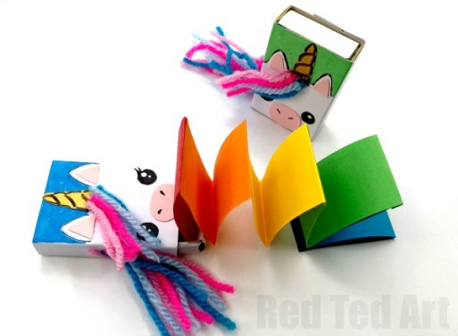 Unicorn Birthday Party Ideas - Unicorn Matchbooks