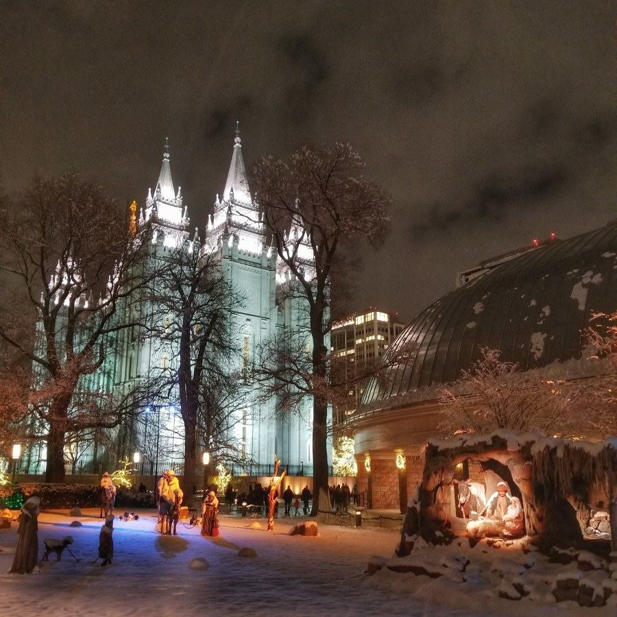 Unique things to do in Utah - Temple Square