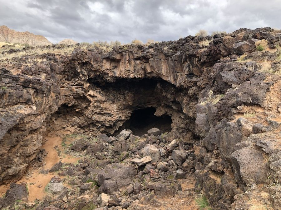 Snow Canyon Lava Tubes
