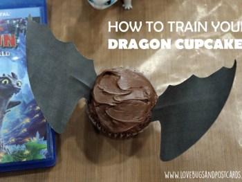 Dragon Cupcakes Wings Printable
