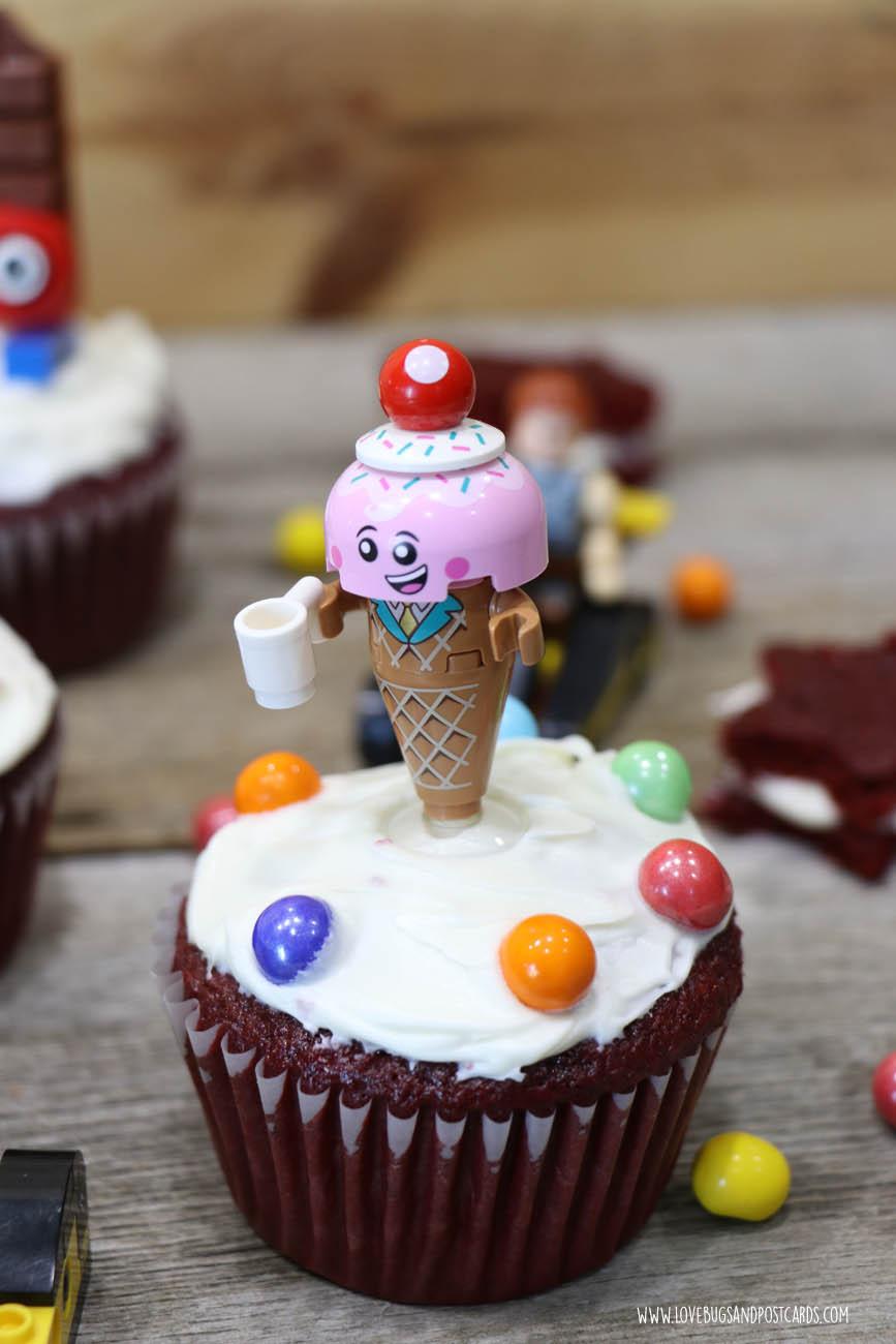 LEGO Movie 2 Cupcakes