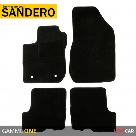 tapis sur mesure pour dacia sandero sandero stepway de 01 2018 a 12 2020 one