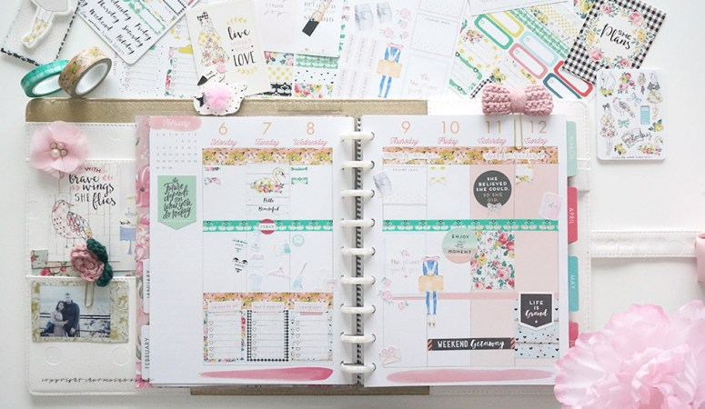 Planner Society January Kit