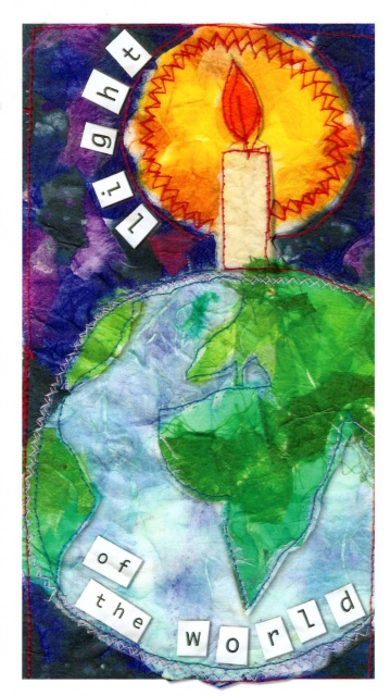 Light Of The World Christmas Cards Pack Of 10