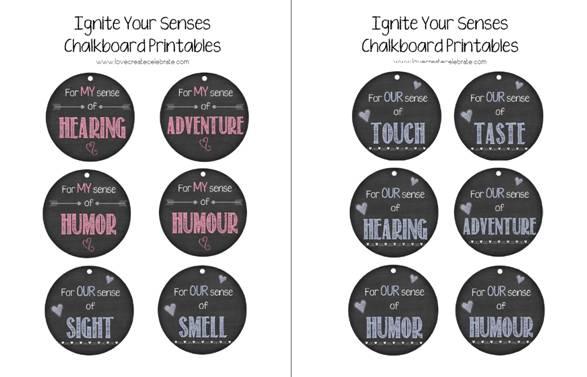 Ignite Your Senses Chalkboard Printables Love Create