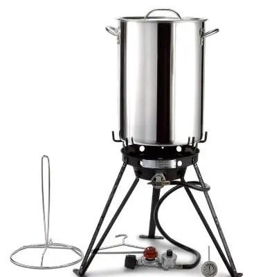Eastman Outdoors Stainless Steel Outdoor Cooking Set | Best Turkey Fryer
