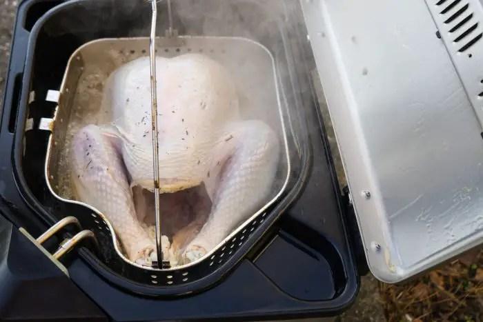 indoor turkey fryer