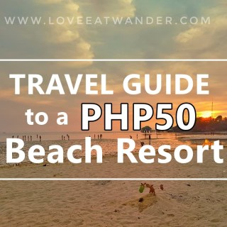 Manuel Uy Beach Resort by Love. Eat. Wander.
