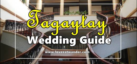 Tagaytay Wedding Guide