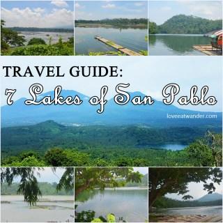 Seven Lakes San Pablo, Laguna