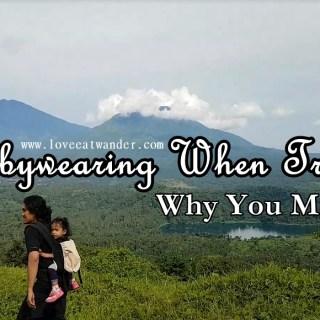 Babywearing When Travelling