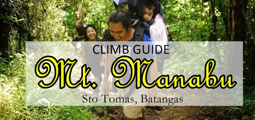 Mt Manabu DIY Climb Guide