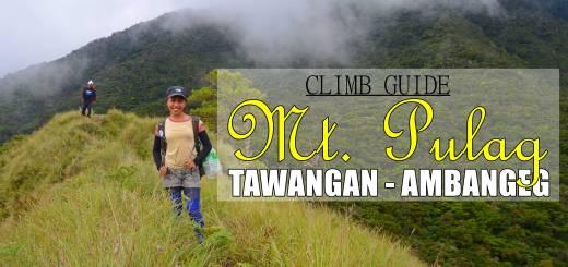 Mt Pulag Tawangan - Ambangeg