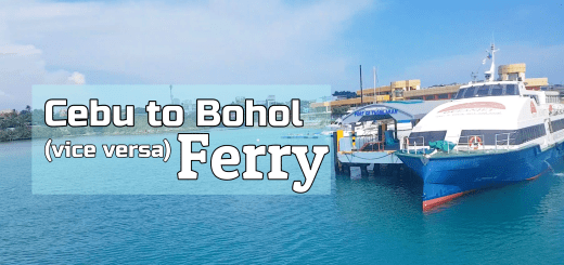 Cebu to Bohol Ferry