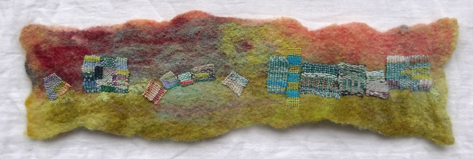 felt and needleweaving