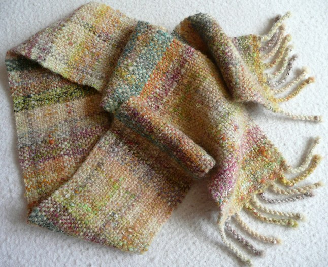 'Machair' scarf sold