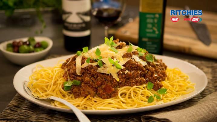 Classic bolognese sauce