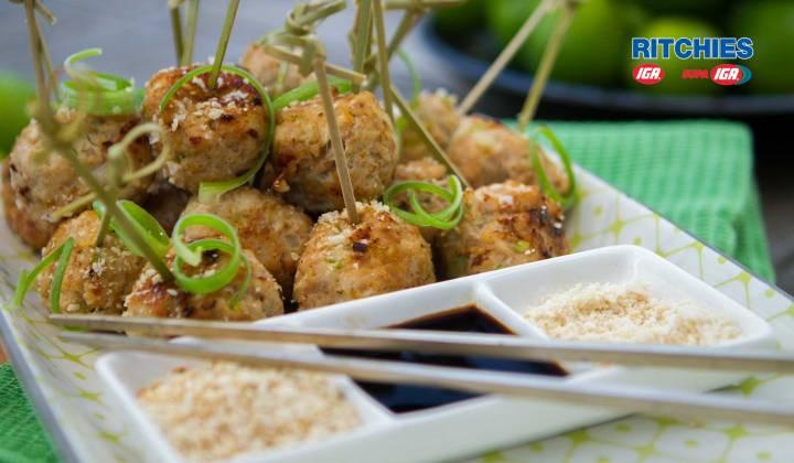 chicken bites with sesame salt