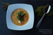 Cambodian Chicken Coconut Soup