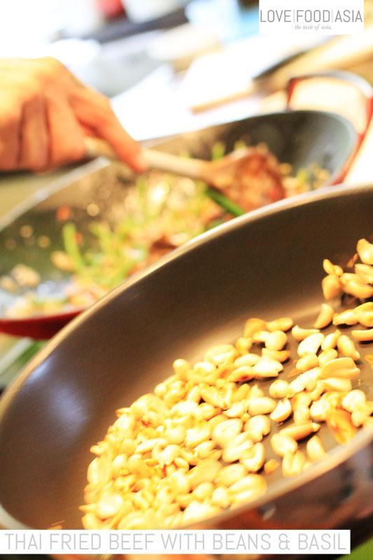 Roast the nuts