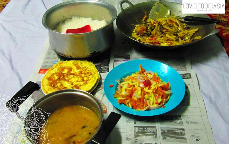 Food in Tanah Rata