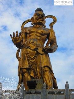 Statue at Kek Lok Si Temple