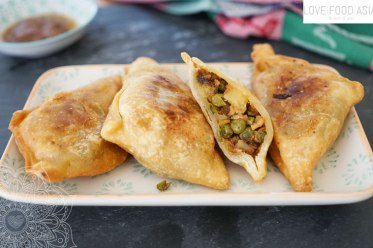 North Indian Samosas