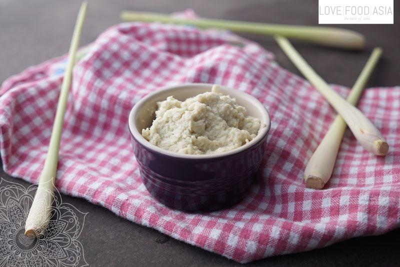 Knoblauch-Ingwer Paste