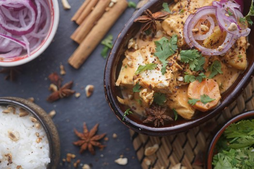 Veganes Massaman Curry