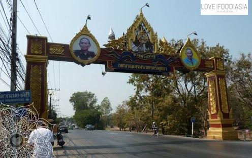Auf den Straßen von Ayutthaya