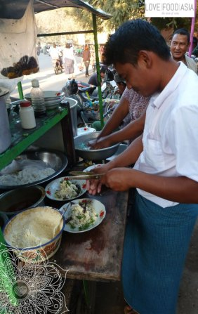 Street Food in Bagan