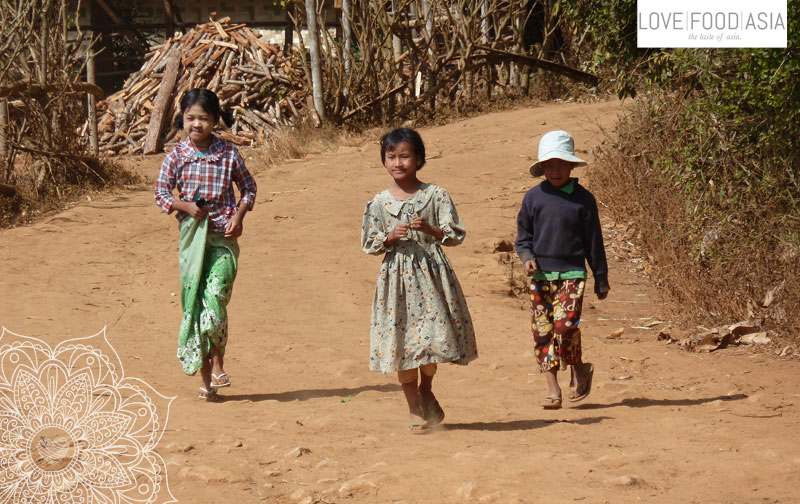 Kids in a small village