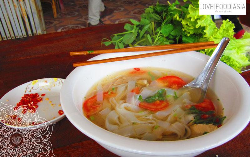 Good breakfast in Laos