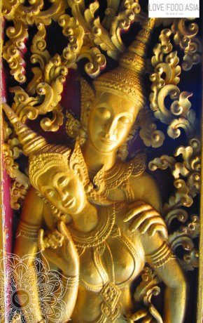 Luang Prabang Buddha statues
