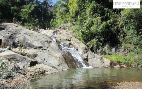 Wasserfall in der Nähe von Pai